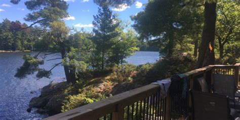 Cottages For Sale Stoney Lake by Cottage On Stoney Lake Kawartha Cottage Vacations