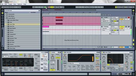 ableton tutorial kick drum ableton live 8 tutorial how to make a tuned fat punchy