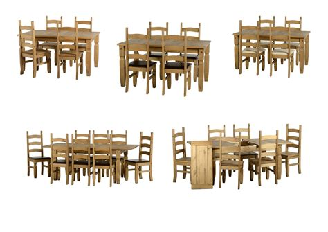corona pine dining table seconique corona dining tables sets chairs benches