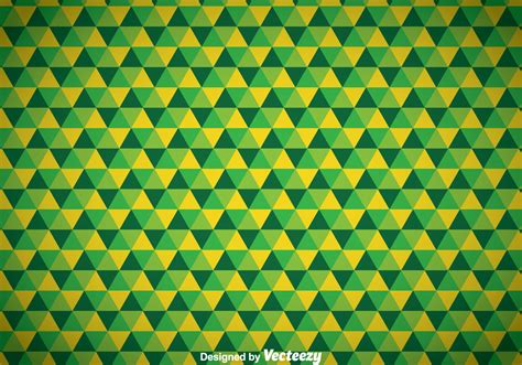 Wallpaper Modern Flower Dasar abstract triangle green background free vector