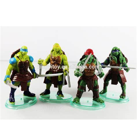Set Mutant Turtles B 4 Karakter Berkualitas new 2014 new 4pcs set tmnt mutant turtles 10cm 4 quot pvc figure