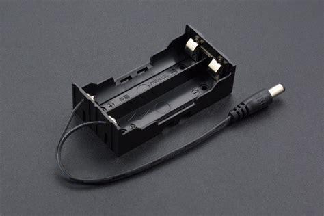 Baterai Holder 18650 X 2 2 x 18650 battery holder with dc2 1 power australia