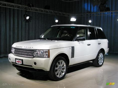 land rover supercharged white 2006 chawton white land rover range rover supercharged