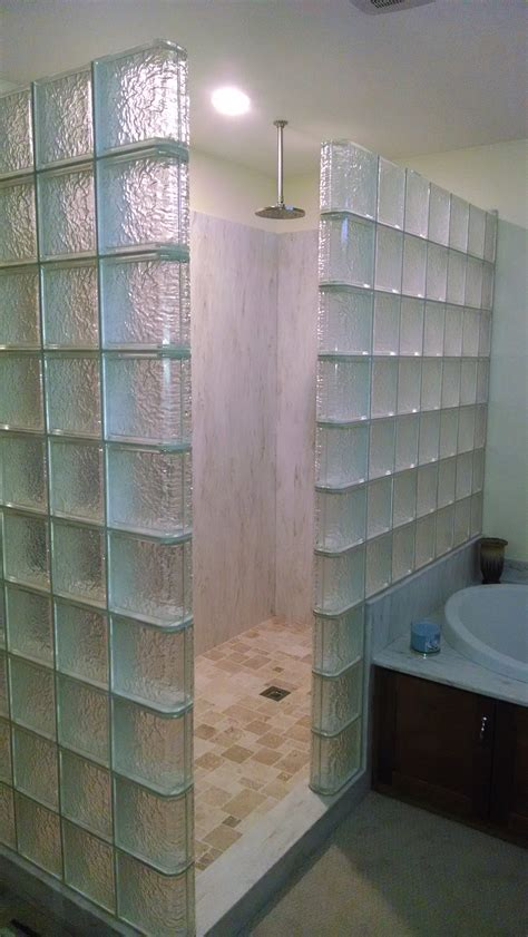 top 3 reasons for upgrading to a glass block shower