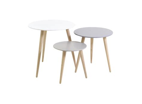 table for 3 set de 3 tables gigogne fly