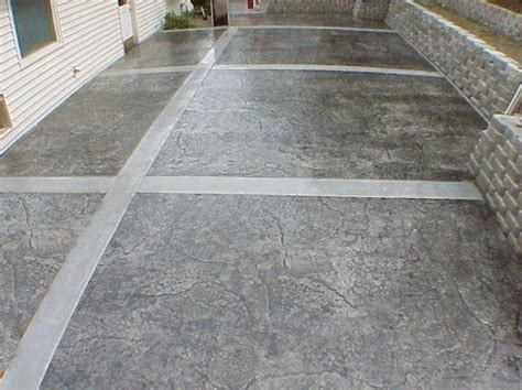 Cement Designs Patio Patio Stones Concrete Patios