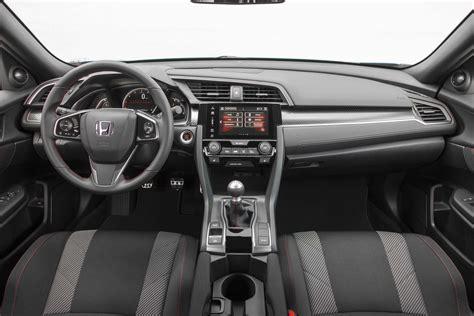 honda civic 2017 interior honda limited 2017 civic si power to increase engine
