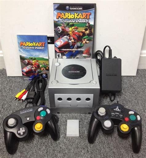 mario console nintendo gamecube launch edition 24mb silver console