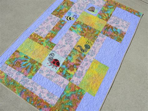 Dimensions Of A Crib Quilt by Crib Size Quilt Baby Quilt Bedding Blankets Throws Home