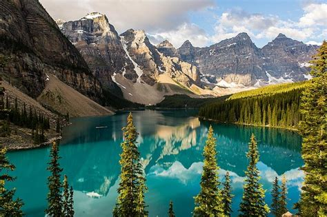 Wall Murals Canada Wallpaper Majestic Canada Mountains And Forests Wallpaper Wall Mural