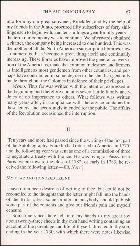 benjamin franklin biography 2nd grade ben franklin autobiography other writings 038062