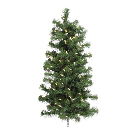 shop vickerman 3 ft 166 count pre lit douglas fir slim