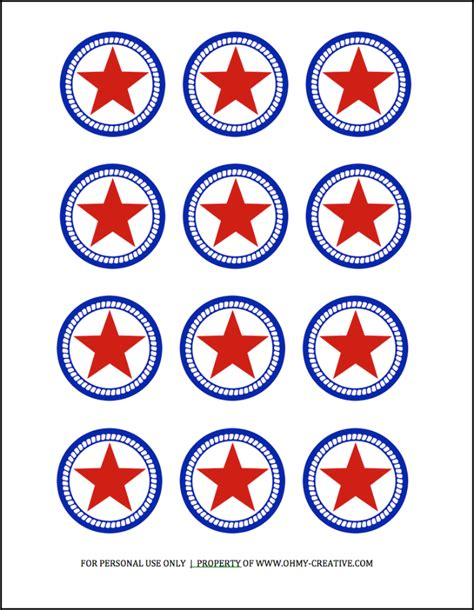 printable star tags patriotic star printable tags oh my creative