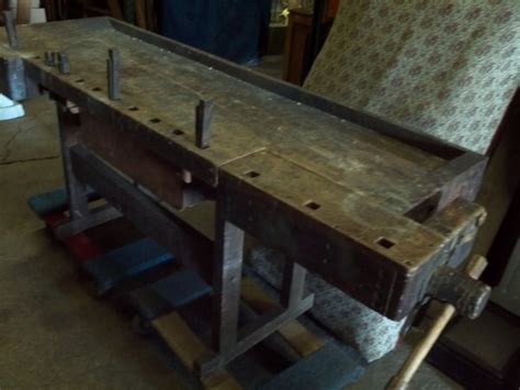 antique workbench obnoxious antiques