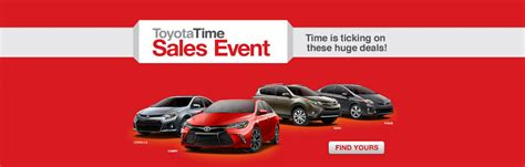 toyota time toyota time sales event in birmingham