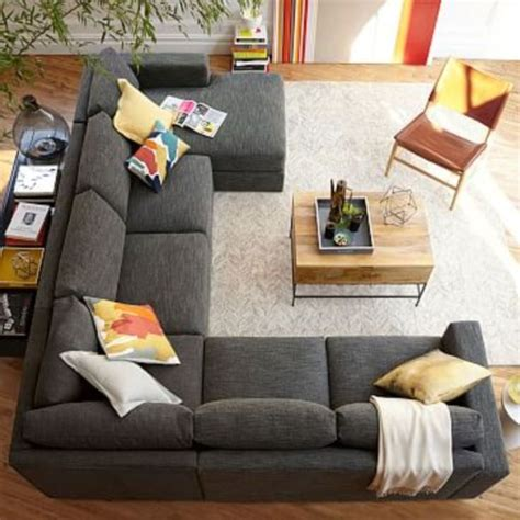 Sectional Sofa Placement Ideas Best 25 Sectional Sofa Layout Ideas On Living Room Sectional Grey Sectional Sofa
