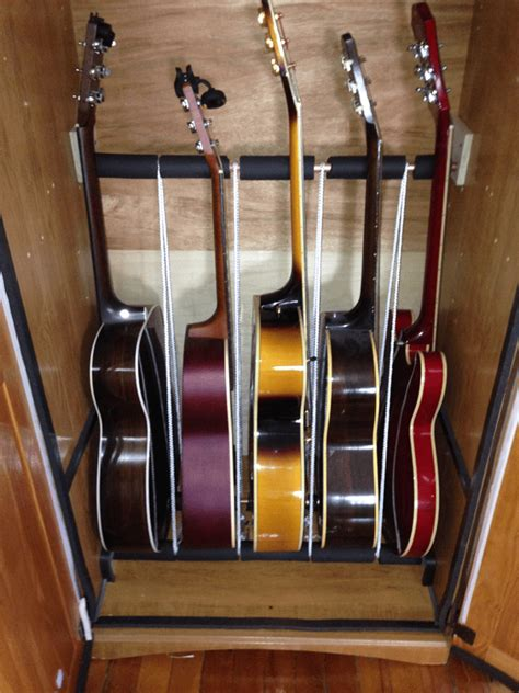 Guitar Storage Cabinet How To Build An Inexpensive Humidified Guitar Cabinet Dan Guitars