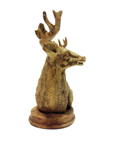 Deer Home Decor earth brown resin figurines 19 buy earth brown resin