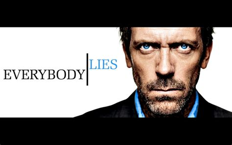 House Md Network Blue Hugh Laurie Everybody Lies Gregory House House M