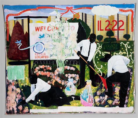 show about painting kerry marshall s paintings show what it means to be