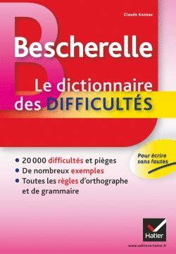 libro bescherelle le coffret bescherelle bescherelle le dictionnaire des difficults bescherelle libro en papel 9782218951954