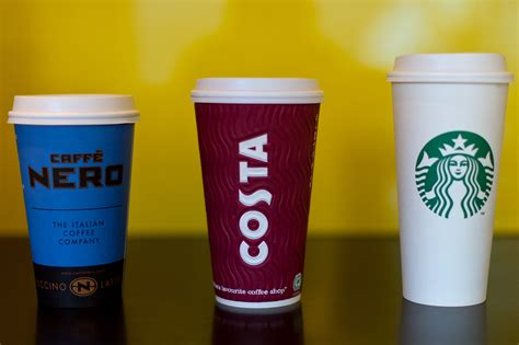 Cups Coffee Shop u k coffee chains in water cup recycling claims