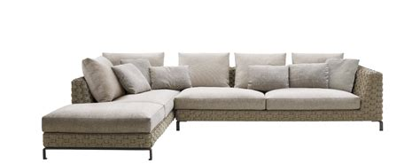 b b sofa sofa ray outdoor natural b b italia outdoor design by