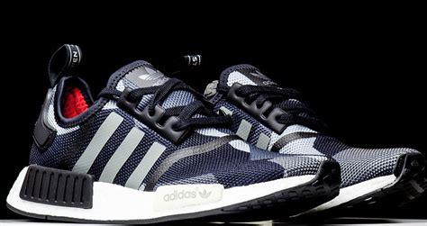 Adidas Nmd Runner R1 Grey Premium Quality quality adidas nmd r1 black grey geometric camo