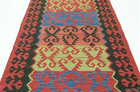 kilim runner rug k0010798 new turkish kilim runner rug