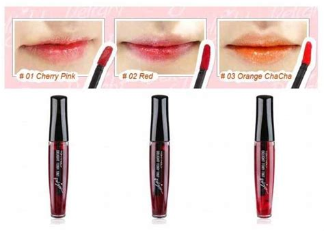 Harga Tony Moly Lip Tint Shade Cherry Pink No 1 tony moly delight tony tint lip stain lipstick 3 colours