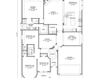 the suburban craftsman 9232 4 bedrooms and 3 baths the craftsman one story house plans single story country house