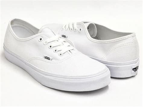 Vans Authentice Pull White Icc my selection of shoes for year wear malefashionadvice