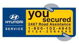 Hyundai Road Assistance by Riya Cars Limited Hyundai