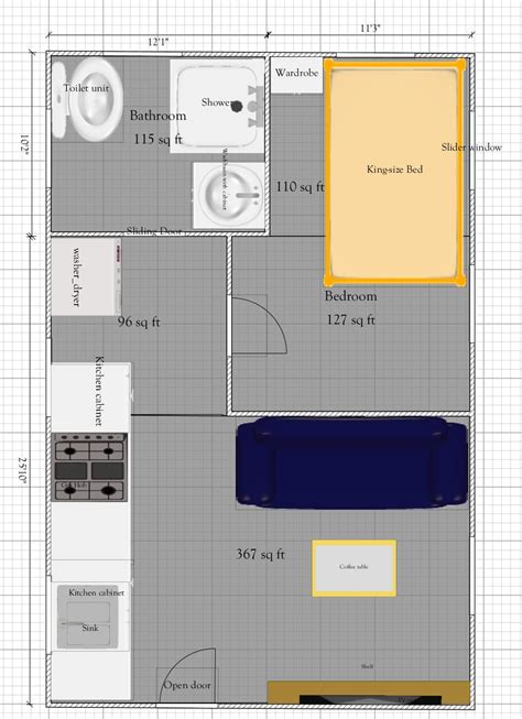 www small house floor plans 815 sq ft small house cabin plan no loft