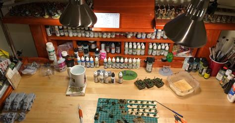 hobby bench hours lair of the uber geek hobby workbench organized