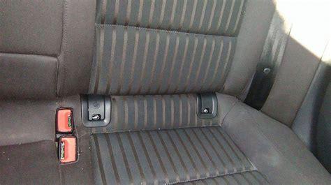 Isofix Audi by Montaż Isofix W Tylnej Kanapie Audi A4 B8 Audi A4 Klub