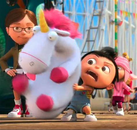 Unicorn Fluffy 53cm Boneka Despicable Me Boneka Unicorn Despicable Me Walking Taco