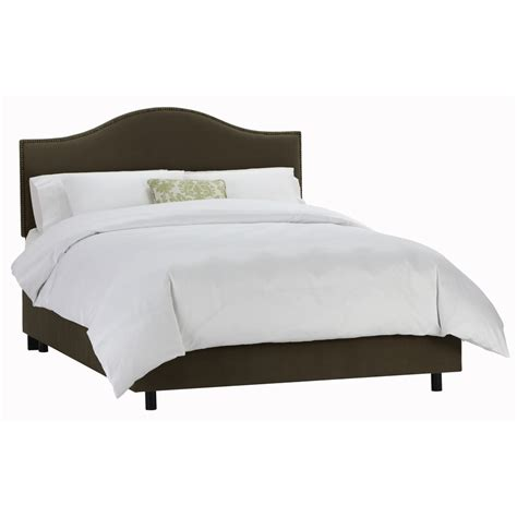 skyline upholstered bed shop skyline furniture armitage chocolate twin upholstered