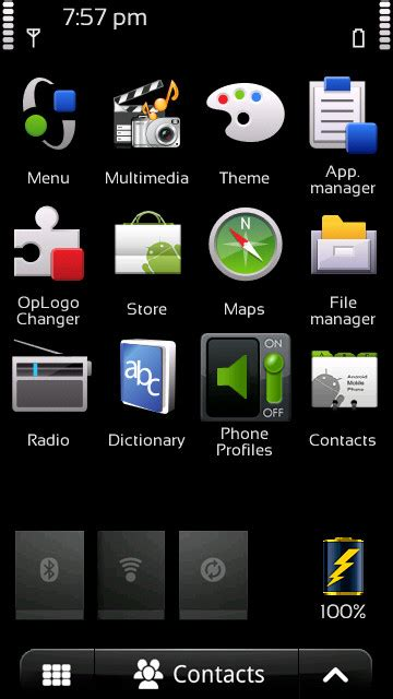 nokia 5233 galaxy themes android 3 for nokia 5230 5232 5233 nuron free download