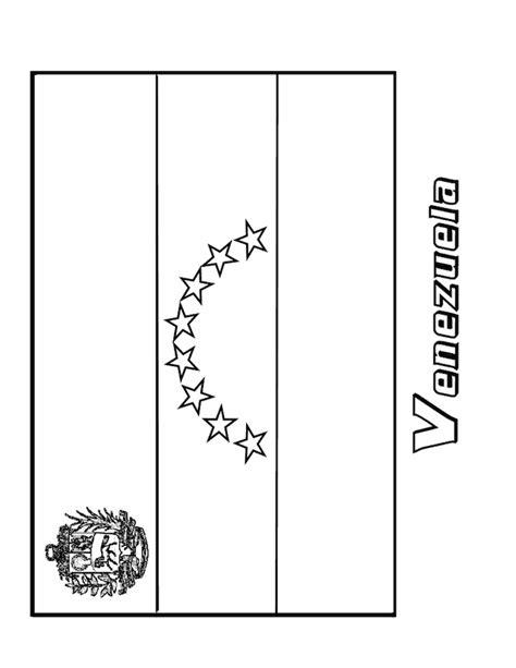 coloring page venezuela flag z onae coloring education flags