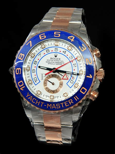 rolex mm oyster perpetual yacht master ii ref