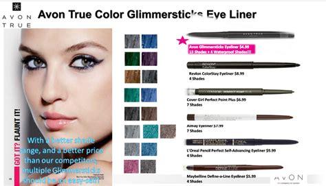 Eyeliner Avon avon true color glimmersticks eye liner buy avon