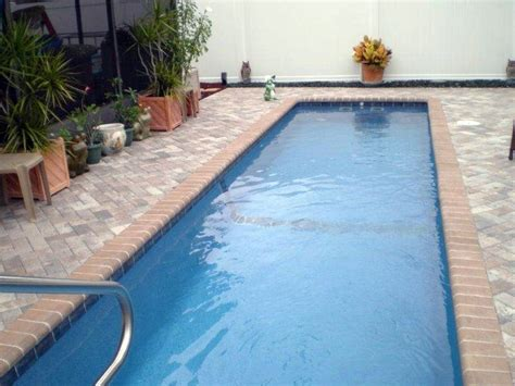 small lap pools what should be the dimensions and cost of a small lap pool