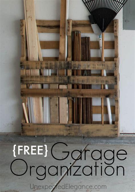Garage Storage With Pallets Free Garage Storage Just One More Thing Pallets Are
