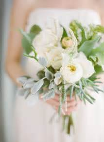White garden rose succulent tropical wedding bouquet