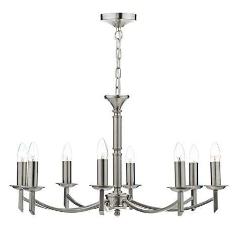 Can Light Chandelier with Satin Silver Chrome Ceiling Light A Simple Unfussy Chandelier Light