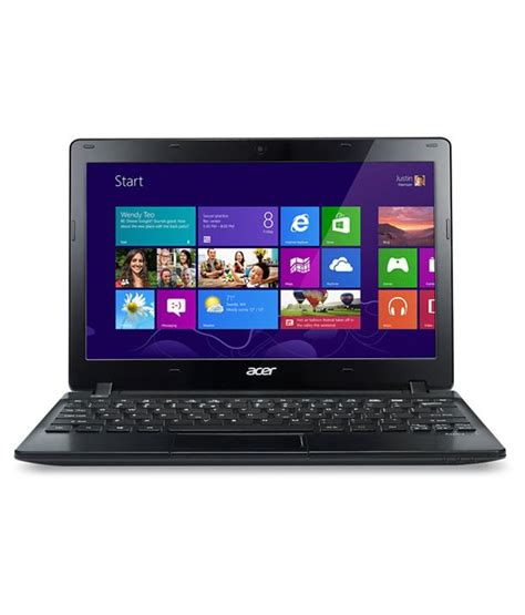 Ram Laptop Acer V5 acer aspire v5 121 notebook amd dual c 70 2gb ram 500gb hdd 29 46cm 11 6 win8 black