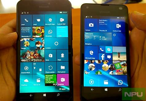 install windows 10 lumia 640 windows 10 mobile build 14332 hands on impressions