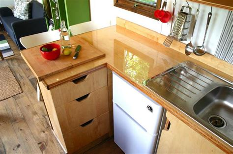 tiny home kitchen design rustic modern tiny house for tall people idesignarch
