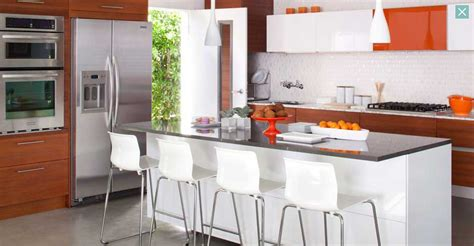 orange and white kitchen ideas interior design ideas